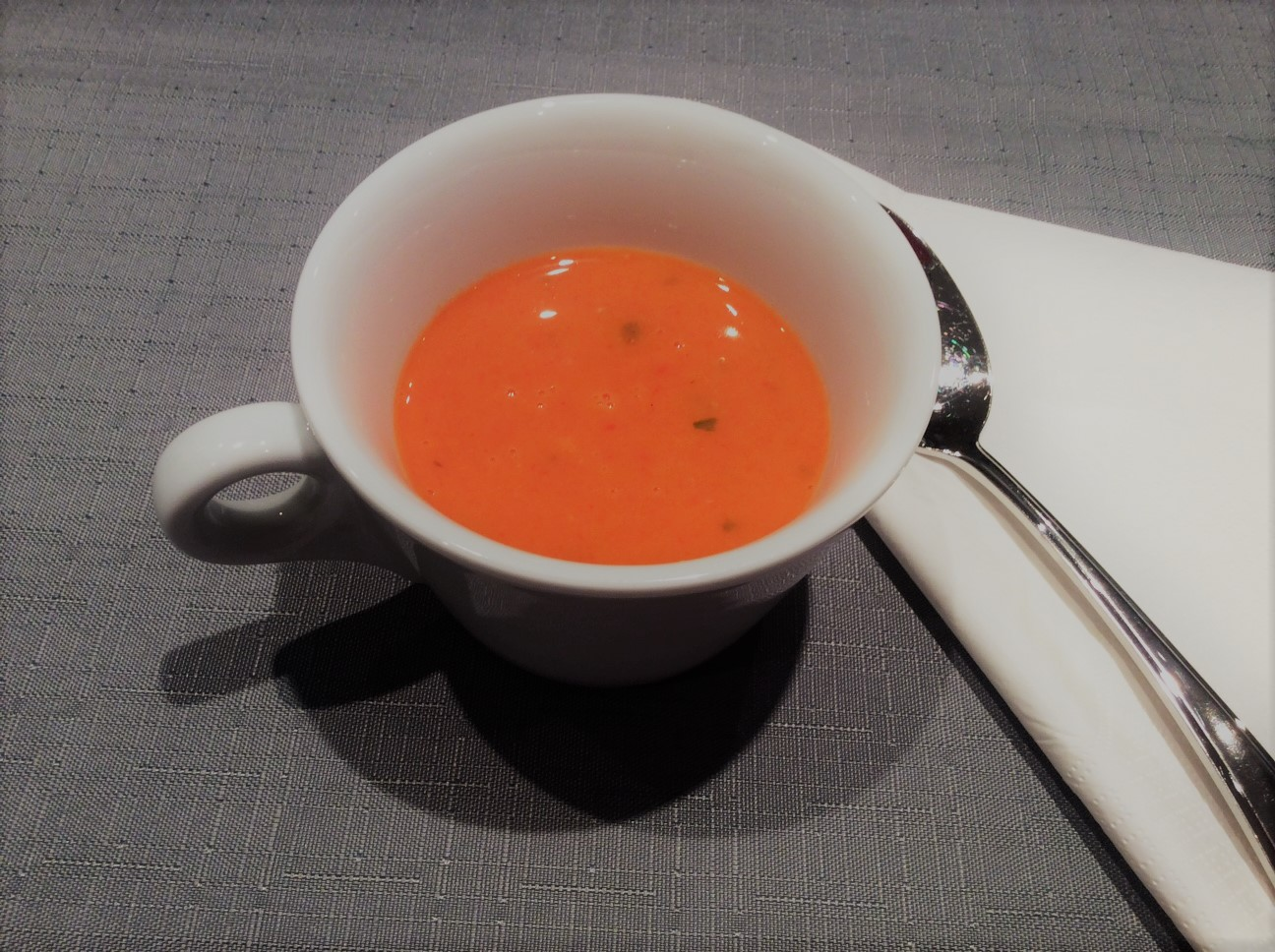 Potage aux poivrons rouges