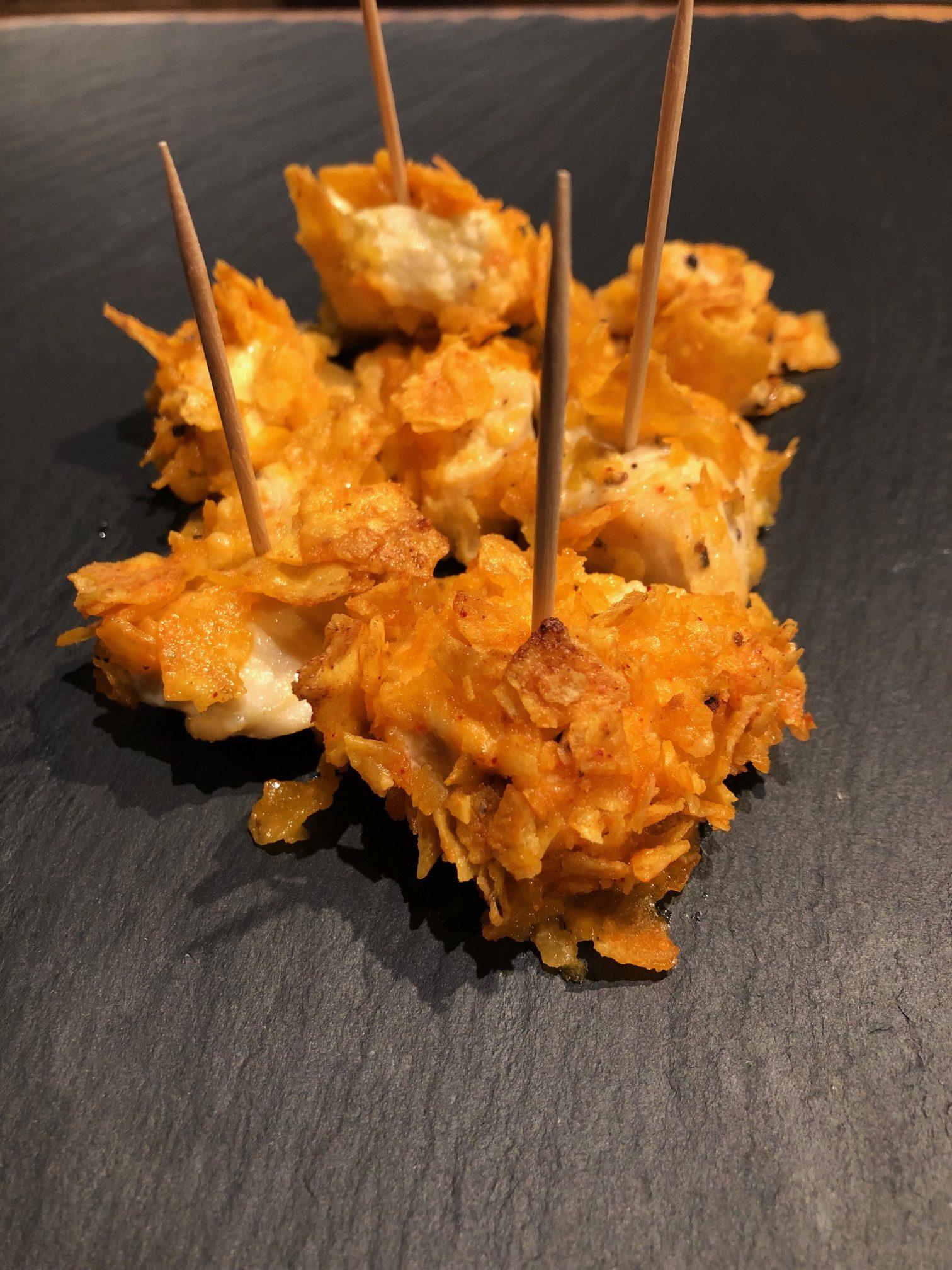 #recettesfamille #recttesansnoix #recettesansarachide #pouletdoritos #doritos #pouletchipsdoritos #rectterapide #recettefacile #recetteentree